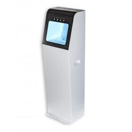 Автоматический напольный дезинфектор для бесконтактной обработки рук антисептиком