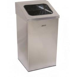 """Урна для мусора """"Имидж"""" с наклоненным открытым отверстием, объем 37 л. 54 л. 79 л."""