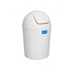 Бак для мусора пластиковый, с качающейся крышкой, обьем 5 л. 15 л.
