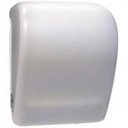 Диспенсер для рулонных бумажных полотенец из пластика белый NOFER 04032.2.W