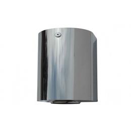 Диспенсер для рулонных бумажных полотенец с центральной вытяжкой wick из нержавеющей стали глянцевый NOFER 04099.B