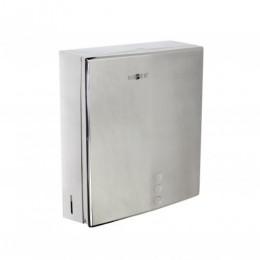 Диспенсер для листовых бумажных полотенец из нержавеющей стали глянцевый NOFER 04006.B