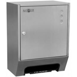 Диспенсер для рулонных полотенец из нержавеющей стали матовый автоматический NOFER  04035.S