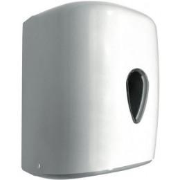 Диспенсер для бумажных полотенец в рулонах с центральной вытяжкой Wick белый NOFER 04108.W