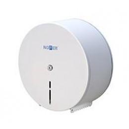 Диспенсер для туалетной бумаги в больших рулонах из нержавеющей стали белый NOFER 05001.XL.W