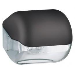 Диспенсер для туалетной бумаги в малых рулонах из пластика NOFER 05012.BK