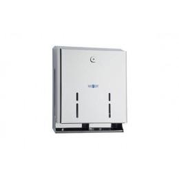 Диспенсер для туалетной бумаги для четырех рулонов из нержавеющей стали глянцевый NOFER 05105.В