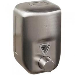 Диспенсер для жидкого мыла настенный матовый Nofer 03022.S