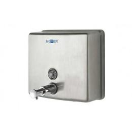Диспенсер для жидкого мыла настенный матовый Nofer 03004.S