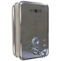Диспенсер для жидкого мыла настенный глянцевый Nofer 03041.B