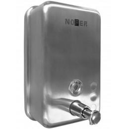 Диспенсер для жидкого мыла настенный матовый Nofer 03041.S