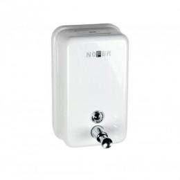 Диспенсер для жидкого мыла настенный белый Nofer 03001.W