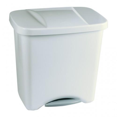 Контейнер для раздельного сбора мусора с внутренним разделением на 1, 2 или 3 секции  с педалью и крышкой