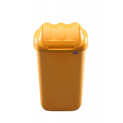 Бак мусорный пластиковый для раздельного сбора отходов с плавающей крышкой