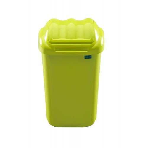 Мусорный бак пластиковый для раздельного сбора отходов с плавающей крышкой