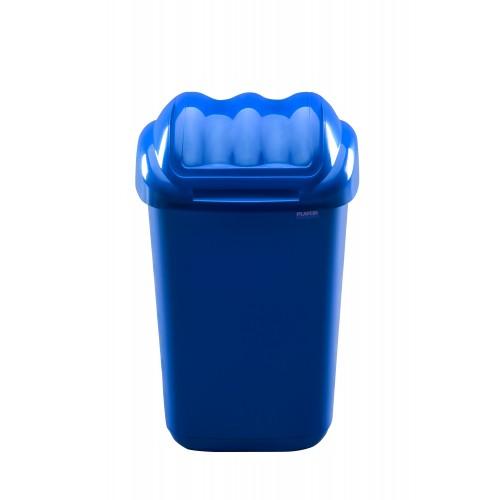 Мусорный контейнер пластиковый для раздельного сбора отходов с плавающей крышкой