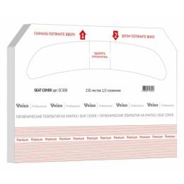 Покрытие на сиденье унитаза Veiro Professional Premium SC300 10 картриджей по 250 листов