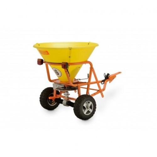 Разбрасыватель прицепной CEMO SW 200 SW 300 для реагентов  удобрения песка емкость бака 200 л и 300 л