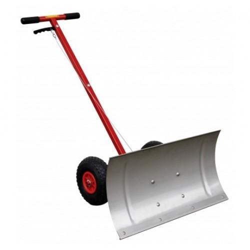 Движок для снега скрепер CEMO на колесах