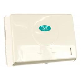 Диспенсер для листовых бумажных полотенец белый Puff PUFF-5110
