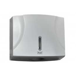 Диспенсер для листовых бумажных полотенец хром Puff Рuff-5125S