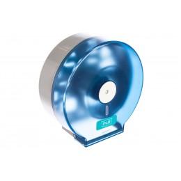 Диспенсер для рулонной туалетной бумаги из пластика синий Puff PUFF-7115