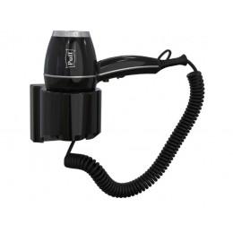 Фен настенный Пластик ABS  Puff 1800Bl Черный
