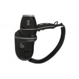 Фен настенный Пластик ABS  Puff 1800BlB Черный