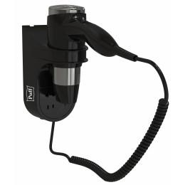 Фен настенный Пластик ABS  Puff 1600ВlB Черный