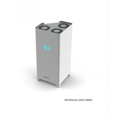 Рециркулятор облучитель бактерицидный для очистки воздуха ЯНТАРЬ К120 TURBO