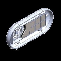 Фильтр воздушный угольный сменный Для облучателей-рециркуляторов Дезар-2, Дезар-3, Дезар-4, Дезар-5, Дезар-7, упаковка 12 шт.