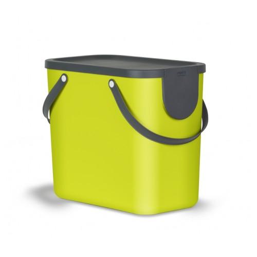 Контейнер для раздельного сбора отходов Rotho Albula 25 л цвет лимон
