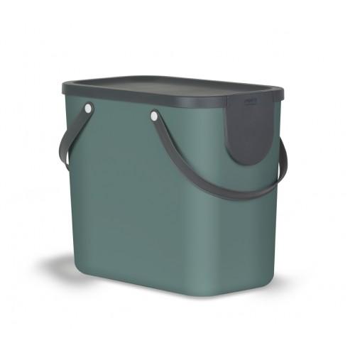 Rotho Albula Контейнер для сортировки мусора 25 л цвет темно-зеленый