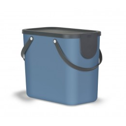 Rotho Albula Контейнер для сортировки мусора 25 л цвет синий