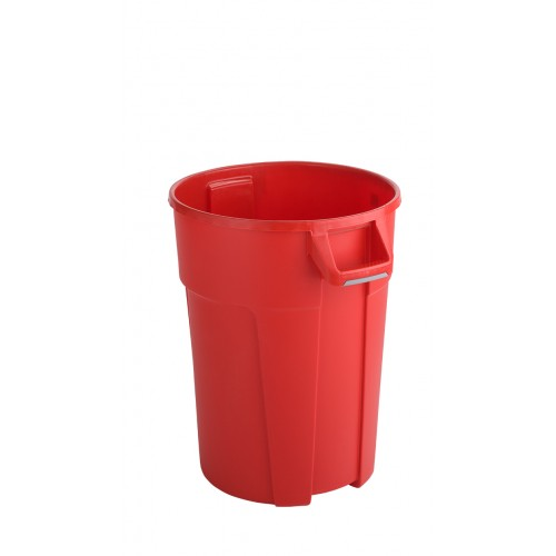 RothoPro Бак для мусора TITAN особо прочный красный 85 л. 120 л.