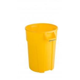 RothoPro Бак для мусора TITAN особо прочный желтый  85 л. 120 л.