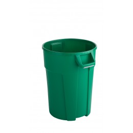 RothoPro Бак для мусора TITAN особо прочный зеленый 85 л. 120 л.