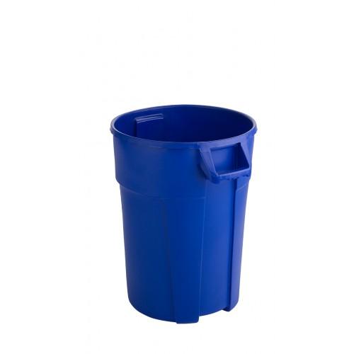 RothoPro Контейнер бак для мусора TITAN особо прочный синий 85 л.