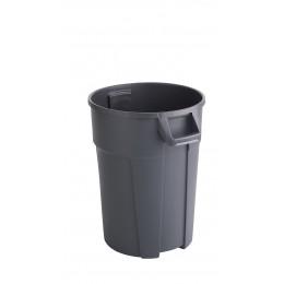 RothoPro Контейнер бак для мусора TITAN особо прочный серый 85 л. 120 л.