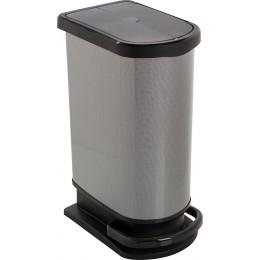 Ведро Rotho для мусора PASO 50 л. с педалью плавное и бесшумное опускание крышки
