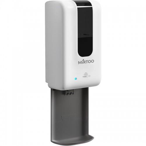 Сенсорный дозатор спрей для антисептика MIRTOO  2252N с каплеуловителем антивандальный емкость 1200 мл.