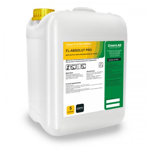FL - ABSOLUT PRO, 5 л. - для мытья сильнозагрязненных полов
