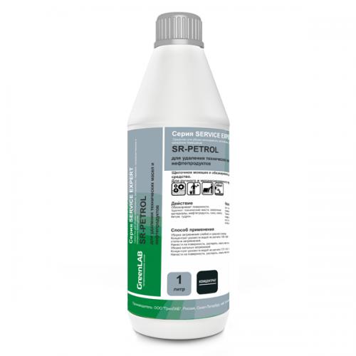 SR - PETROL, 1 л. - для удаления технических масел и нефтепродуктов
