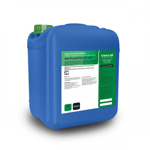 AK - PLANTEX 24 CIP, 20 л. Для удаления жировых и белковых загрязнений
