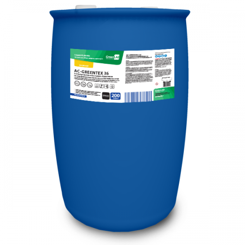 AC - GREENTEX 36, 200 л. Для внутренней кислотной мойки оборудования на предприятиях молочной и мясной промышленностей