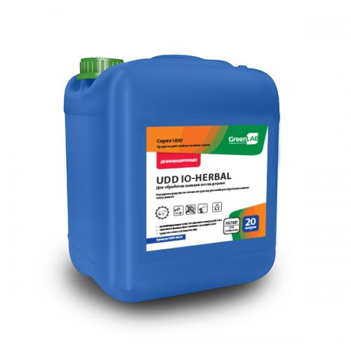 UDD IO - HERBAL, 20 л. Для обработки вымени после доения