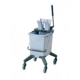 Тележка уборочная одноведерная Vileda professional система 25 л. с вертикальным отжимом на колесах 516546