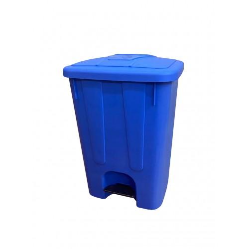 Мусорный бак с крышкой и педалью для раздельного сбора мусора