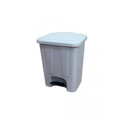 Мусорный бак с крышкой и педалью для раздельного сбора отходов