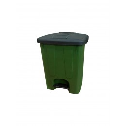 Мусорная урна с крышкой и педалью для раздельного сбора мусора